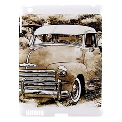 Vintage Chevrolet Pick Up Truck Apple Ipad 3/4 Hardshell Case (compatible With Smart Cover) by MichaelMoriartyPhotography