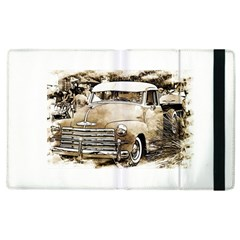 Vintage Chevrolet Pick Up Truck Apple Ipad 3/4 Flip Case by MichaelMoriartyPhotography