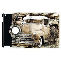 Vintage Chevrolet Pick Up Truck Apple Ipad 2 Flip 360 Case by MichaelMoriartyPhotography