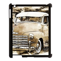 Vintage Chevrolet Pick Up Truck Apple Ipad 3/4 Case (black) by MichaelMoriartyPhotography