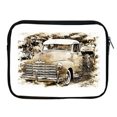 Vintage Chevrolet Pick Up Truck Apple Ipad 2/3/4 Zipper Cases by MichaelMoriartyPhotography