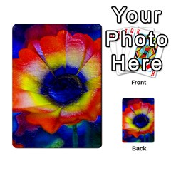 Tie Dye Flower Multi Purpose Cards (rectangle)  by MichaelMoriartyPhotography