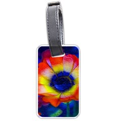 Tie Dye Flower Luggage Tags (two Sides) by MichaelMoriartyPhotography