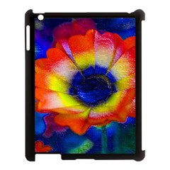 Tie Dye Flower Apple Ipad 3/4 Case (black) by MichaelMoriartyPhotography