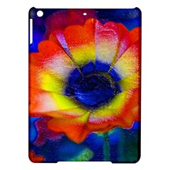 Tie Dye Flower Ipad Air Hardshell Cases by MichaelMoriartyPhotography