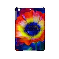 Tie Dye Flower Ipad Mini 2 Hardshell Cases by MichaelMoriartyPhotography