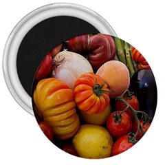 Heirloom Tomatoes 3  Magnets by MichaelMoriartyPhotography