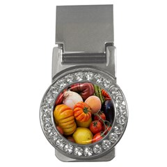 Heirloom Tomatoes Money Clips (cz)  by MichaelMoriartyPhotography