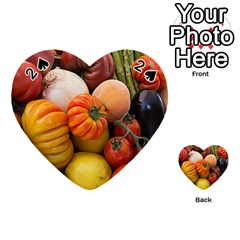 Heirloom Tomatoes Playing Cards 54 (heart)