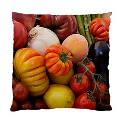 Heirloom Tomatoes Standard Cushion Case (two Sides) by MichaelMoriartyPhotography