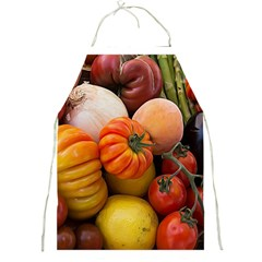 Heirloom Tomatoes Full Print Aprons by MichaelMoriartyPhotography