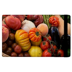 Heirloom Tomatoes Apple Ipad 3/4 Flip Case by MichaelMoriartyPhotography