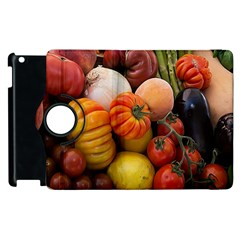 Heirloom Tomatoes Apple Ipad 2 Flip 360 Case by MichaelMoriartyPhotography