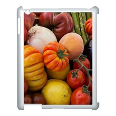 Heirloom Tomatoes Apple Ipad 3/4 Case (white) by MichaelMoriartyPhotography