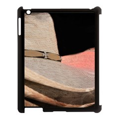 Straw Hats Apple Ipad 3/4 Case (black) by MichaelMoriartyPhotography