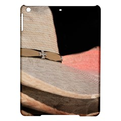 Straw Hats Ipad Air Hardshell Cases by MichaelMoriartyPhotography