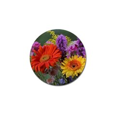 Colorful Flowers Golf Ball Marker (10 Pack) by MichaelMoriartyPhotography