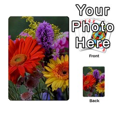 Colorful Flowers Multi Purpose Cards (rectangle)  by MichaelMoriartyPhotography
