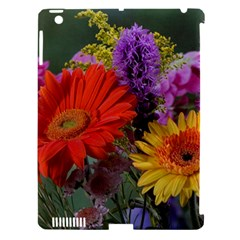 Colorful Flowers Apple Ipad 3/4 Hardshell Case (compatible With Smart Cover) by MichaelMoriartyPhotography
