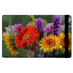 Colorful Flowers Apple Ipad 2 Flip Case by MichaelMoriartyPhotography