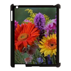 Colorful Flowers Apple Ipad 3/4 Case (black) by MichaelMoriartyPhotography