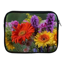 Colorful Flowers Apple Ipad 2/3/4 Zipper Cases by MichaelMoriartyPhotography