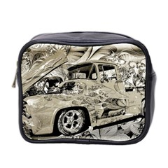 Old Ford Pick Up Truck  Mini Toiletries Bag 2 Side by MichaelMoriartyPhotography