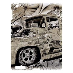 Old Ford Pick Up Truck  Apple Ipad 3/4 Hardshell Case by MichaelMoriartyPhotography
