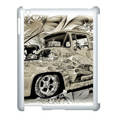 Old Ford Pick Up Truck  Apple Ipad 3/4 Case (white) by MichaelMoriartyPhotography