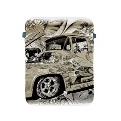Old Ford Pick Up Truck  Apple Ipad 2/3/4 Protective Soft Cases by MichaelMoriartyPhotography