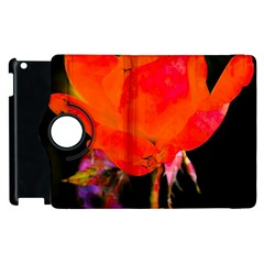 Red Beauty Apple Ipad 2 Flip 360 Case by MichaelMoriartyPhotography
