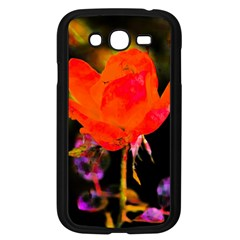 Red Beauty Samsung Galaxy Grand Duos I9082 Case (black) by MichaelMoriartyPhotography