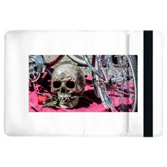 Skull And Bike Ipad Air 2 Flip by MichaelMoriartyPhotography