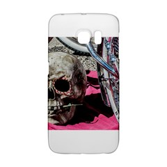 Skull And Bike Galaxy S6 Edge by MichaelMoriartyPhotography