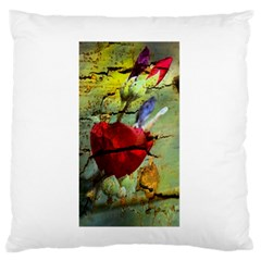 Rusty Globe Mallow Flower Standard Flano Cushion Case (one Side) by MichaelMoriartyPhotography