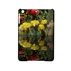 Cactus Flowers With Reflection Pool Ipad Mini 2 Hardshell Cases by MichaelMoriartyPhotography