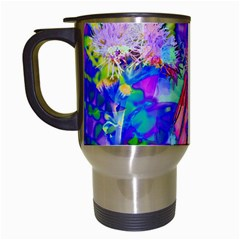 Psychedelic Butterfly Travel Mugs (white)
