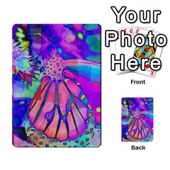 Psychedelic Butterfly Multi Purpose Cards (rectangle)  by MichaelMoriartyPhotography