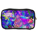 Psychedelic Butterfly Toiletries Bags 2-Side Front