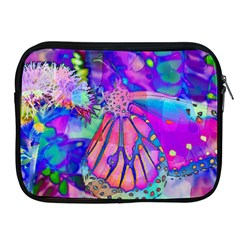 Psychedelic Butterfly Apple Ipad 2/3/4 Zipper Cases by MichaelMoriartyPhotography