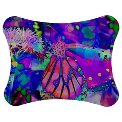 Psychedelic Butterfly Jigsaw Puzzle Photo Stand (bow)