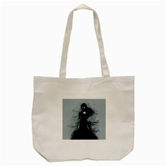 He Never Came Tote Bag (cream) by lvbart