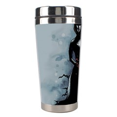 He Never Came Stainless Steel Travel Tumblers by lvbart