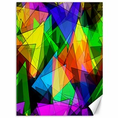 Colorful Triangles                                                                  			canvas 36  X 48  by LalyLauraFLM
