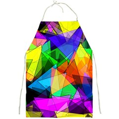 Colorful Triangles                                                                  			full Print Apron by LalyLauraFLM
