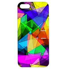Colorful Triangles                                                                  			apple Iphone 5 Hardshell Case With Stand by LalyLauraFLM