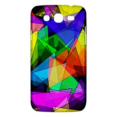 Colorful Triangles                                                                  			samsung Galaxy Mega 5 8 I9152 Hardshell Case by LalyLauraFLM