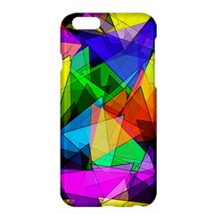 Colorful Triangles                                                                  			apple Iphone 6 Plus/6s Plus Hardshell Case by LalyLauraFLM