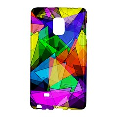 Colorful Triangles                                                                  			samsung Galaxy Note Edge Hardshell Case by LalyLauraFLM
