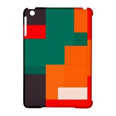Rectangles And Squares  In Retro Colors                                                                   			apple Ipad Mini Hardshell Case (compatible With Smart Cover) by LalyLauraFLM